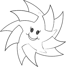 happy star coloring pages wecoloringpage