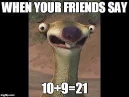 Sloth Meme Maker - sid the sloth memes imgflip