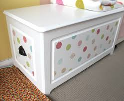 Diy Wooden Toy Box Plans by Diy Toy Box Makeover Turn That Toy Box Frown Upside Down