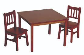 Mission Dining Room Set by Guidecraft Mission Table And Chair Goedekers Com