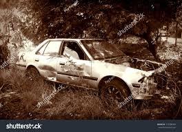 rusty car old rusty car wreck scary junk stock photo 719568343 shutterstock