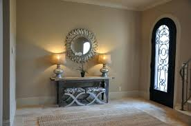 Foyer Console Table And Mirror Carved Solid Mahogany Antique Replica Hapsburg Mirror Topped
