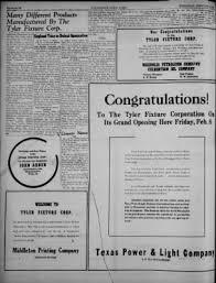 texas power and light company waxahachie daily light from waxahachie texas on february 6 1946