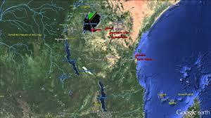Tanzania Map Tanzania Map 3d Earth Zoom Effects No Music Youtube