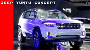 jeep sports car concept jeep yuntu concept youtube