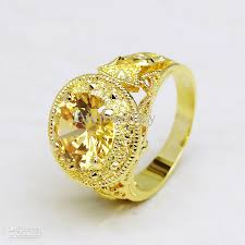 gold topaz rings images 2018 size 9 10 11 men 39 s 10ct solitaire yellow topaz 18k yellow jpg