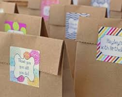 personalized party favor bags 22 best brown paper party bags images on goodie bags