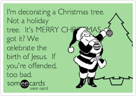 i m decorating a tree not a tree it s merry