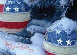 patriotic ornaments greeting cards greeting