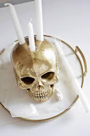 skull candle holder diy u2013 a beautiful mess