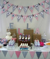 Baby Shower Home Decorations Photo Baby Shower Themes For Image Boy Small Ideas Or With
