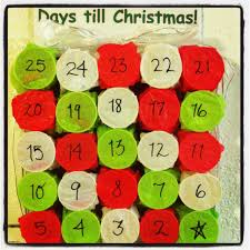 diy advent calendar dixie cups tissue paper treats glue and