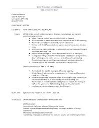 Sample Resume For Accounting Assistant Accountant Sample Of Accountant Resume