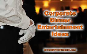 corporate dinner entertainment ideas comedy ventriloquist