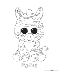 print zig zag beanie boo coloring pages free printable