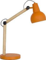 zuiver desk lamp study table lamp orange design wonen online