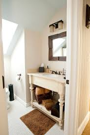 Repurposed Bathroom Vanity by Pretty Unfinished Dresser In Bathroom Farmhouse With Repurposed