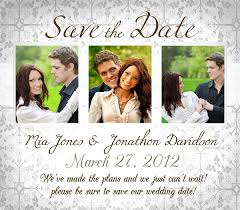save the date wedding invitations address for save the date wedding invitation with photo