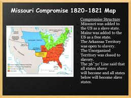 Missouri Compromise Map Activity Save