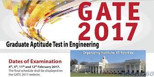 pattern of gate exam gate syllabus 2017 download gate exam pattern here
