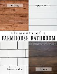 Farmhouse Bathroom Ideas Colors Farmhouse Bathroom Design Subway Tiles Design Elements And