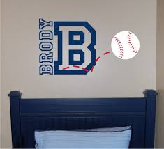 Baseball Bedroom Decor Baseball Wall Art Decals Color The Walls Of Your House