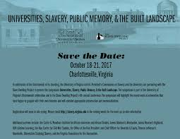 a conference between sleepovers the slave dwelling project