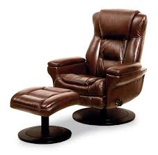 Reclining Chair And A Half Leather Furniture Leather Swivel Chair And Ottoman Leather Reclining