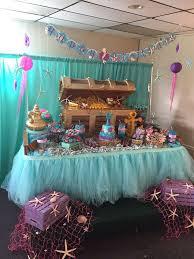 undersea birthday party ideas dessert table birthdays and mermaid