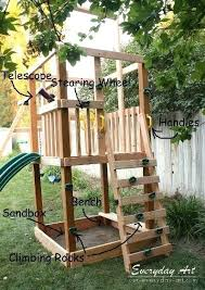 Playground Ideas For Backyard Backyard Playground Ideas Pinterest Diy Backyard Playground How To