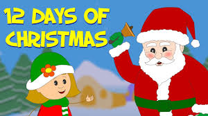 12 days of christmas christmas carol by kidscamp youtube