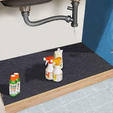sink kitchen cabinet mat the sink mat cabinet mat absorbent waterproof protects cabinets premium shelf liner contains liquids washable 24in x 36in 24 36