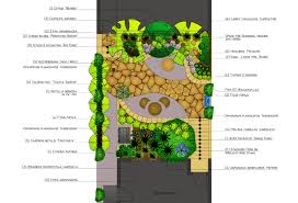 Courtyard Plans by Ambience Garden Design Plans