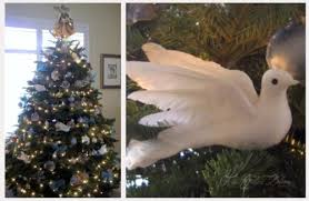 white dove tree decorations rainforest islands ferry
