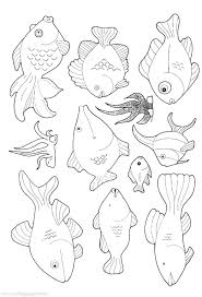 rainbow fish coloring pages printable coloringstar within