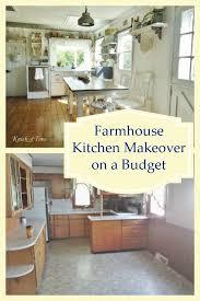 farmhouse kitchen ideas on a budget budget farmhouse kitchen remodel farmhouse kitchens budgeting