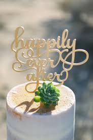 gold cake topper happily after wedding cake topper gold cake topper laser