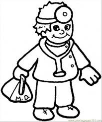 doctor coloring page free coloring pages on art coloring pages