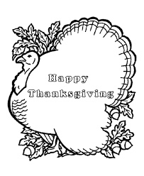 cute thanksgiving turkey happy thanksgiving coloring