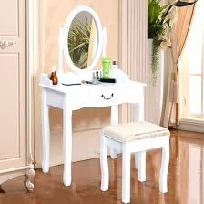 vanity dressing table with mirror makeup dressing table organizedlife wooden makeup vanity table