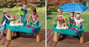 step 2 water table with umbrella toysrus step2 splish splash seas water table with umbrella only
