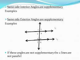 Same Side Interior Angles Definition Geometry Define Same Side Interior Angles In Geometry