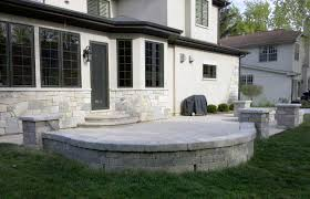 Retaining Wall Patio Design Gallery Of Patios And Retaining Walls