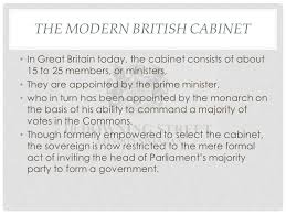 The Cabinet In Government Gp4b Governing Modern Wales U2013 The Core Executive The Nature And