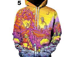 trippy hoodie etsy