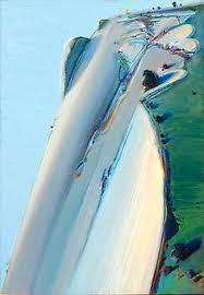 Wayne Thiebaud Landscapes by Wayne Thiebaud Brown River Art Abstract Pinterest