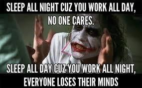 Sleep At Work Meme - joker meme things for sis pinterest joker meme and nurse stuff