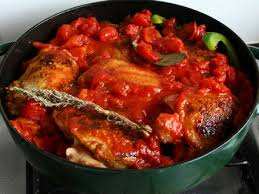 cuisine poulet basquaise poulet basquaise poivrons et tomates cookismo recettes saines