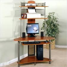 desk bush series a 48 corner computer desk with hutch in hansen