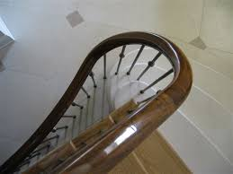 Curved Handrail Geometric Staircases And Curved Handrails By Lyndon Cabinet Makers